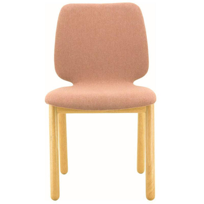 Echo Fabric Dining Chair in Dusty Rose
