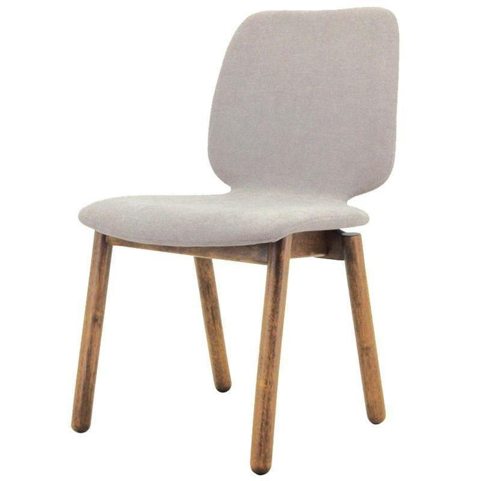 Echo Fabric Dining Chair in Light Grey