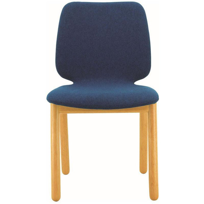 Echo Fabric Dining Chair in Midnight Blue