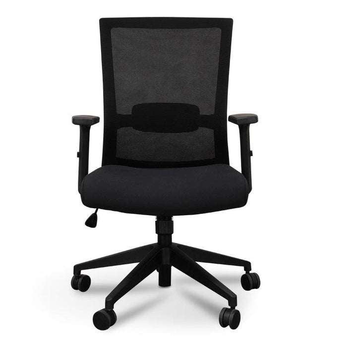 Simon Mesh Boardroom Office Chair - Black