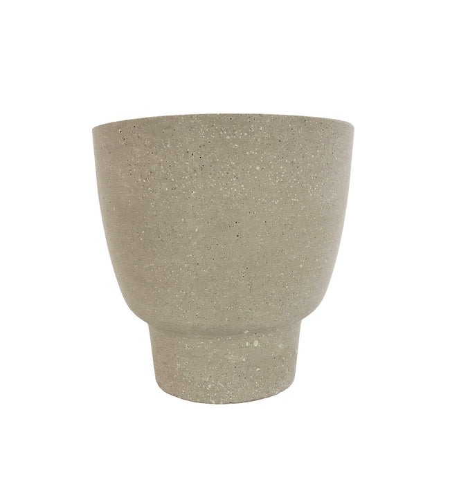Siri 20cm Stone Vessel - Natural