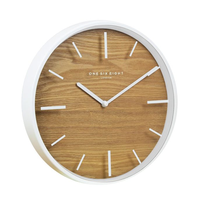 Wren 50cm Wall Clock - White