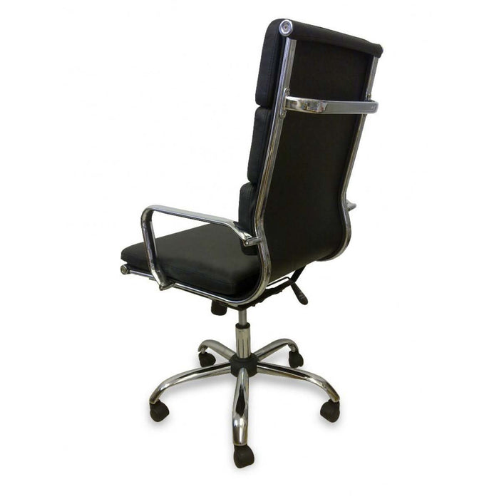 Soft Pad Executive Boardroom Office Chair - Black