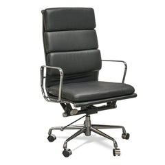 Soft Pad Executive Office Chair - Eames Replica - Black