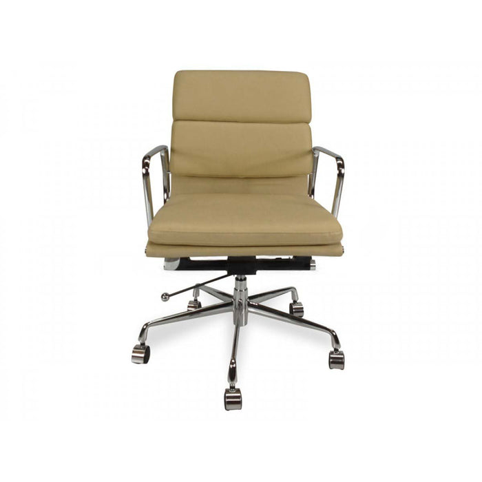 Soft Pad Management Boardroom  Chair - Eames Replica - Light Brown