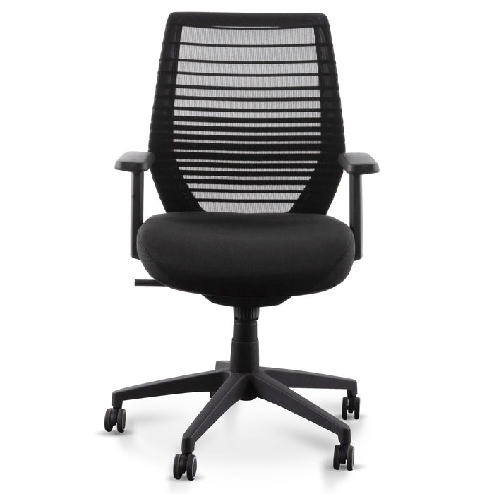 Sondra Office Chair - Full Black