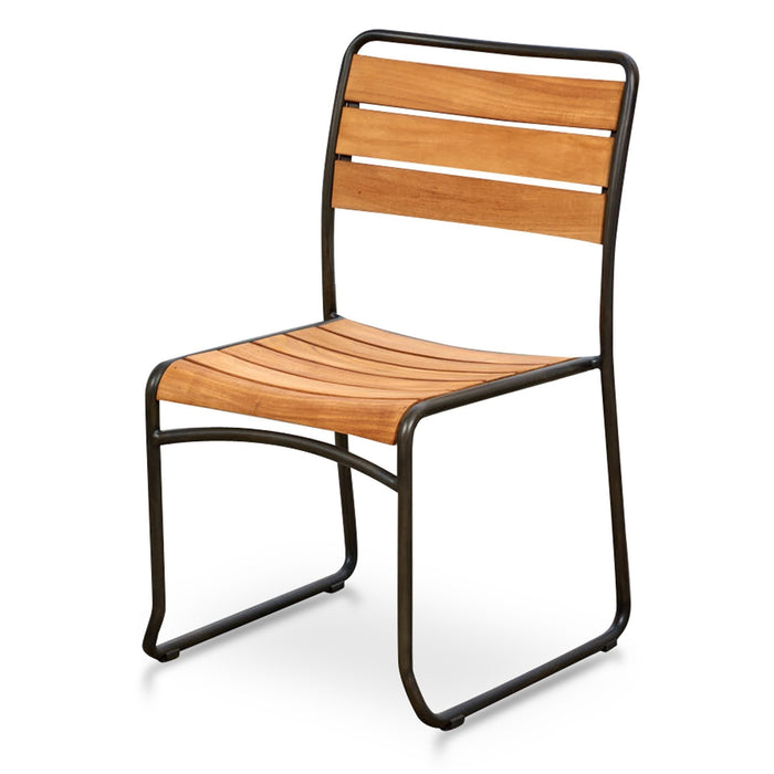Sorrento Teak Outdoor Chair - Natural