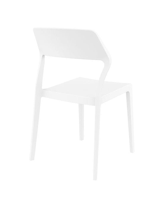 Specter Indoor / Outdoor Dining Chair - White