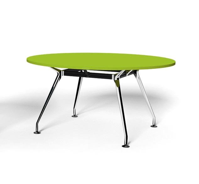 Swift Round Office Meeting Table 105cm - Juicy Green