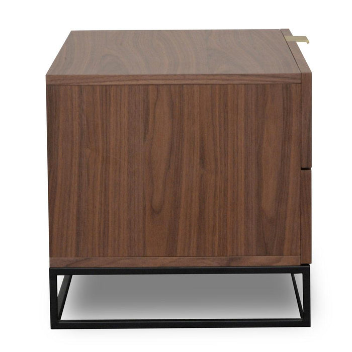Talia Bedside Table - Walnut