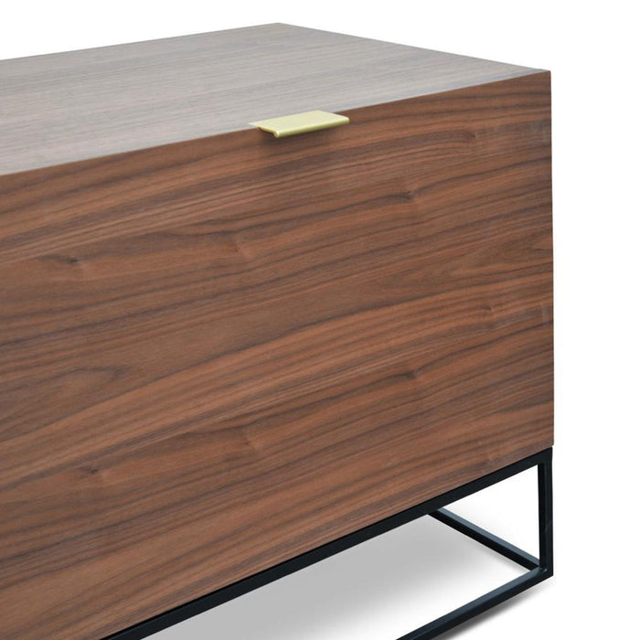 Talia 180cm Entertainment TV Unit - Walnut