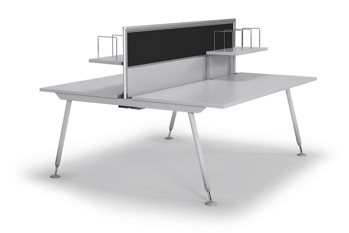 Tempo 2 Desks 150cm Office Workstation