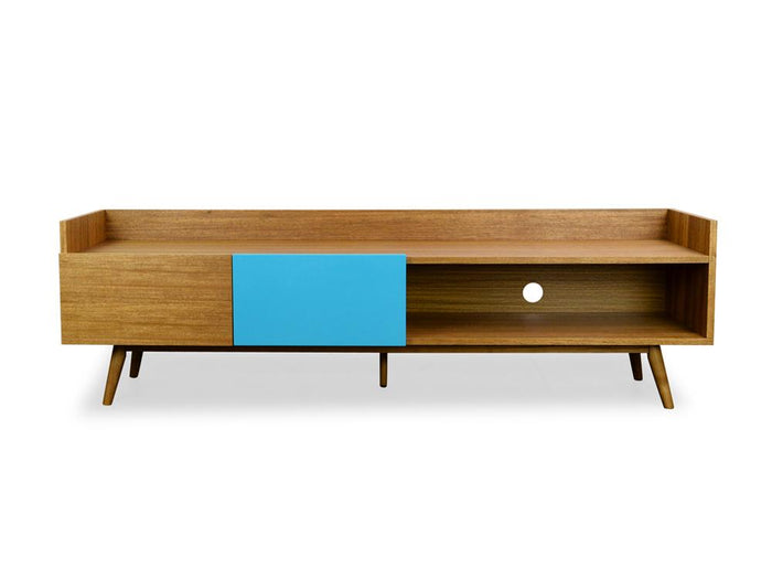 Theodor Scandinavian 180cm Lowline TV Entertainment Unit