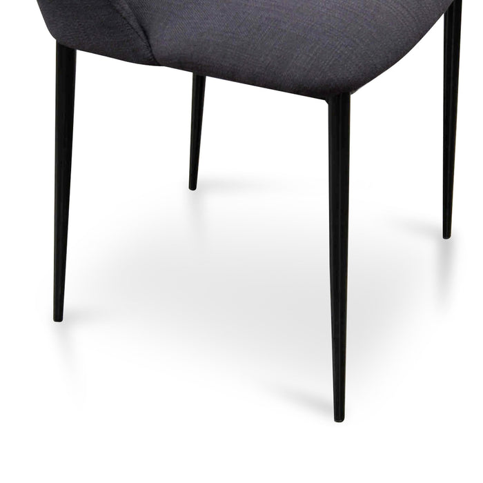 Tisha Dining Chair - Black