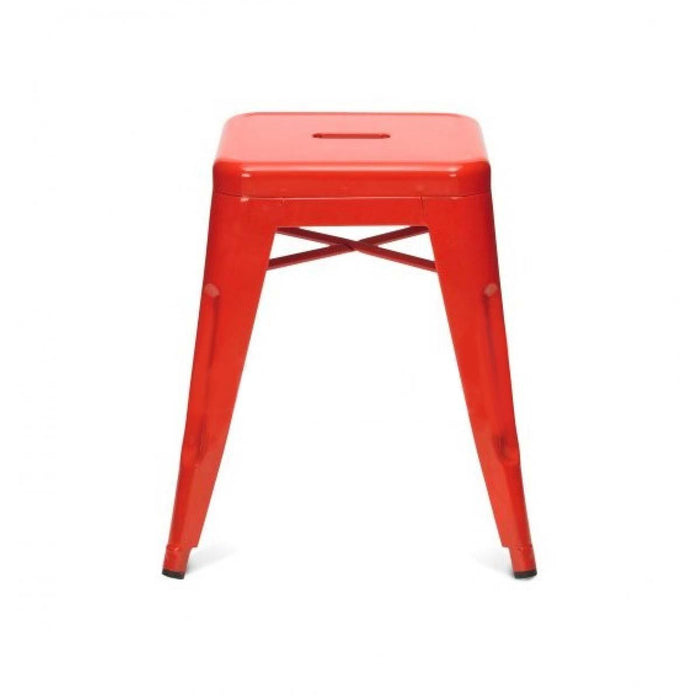 Tolix Bar Stool 45cm - Xavier Pauchard Replica - Red