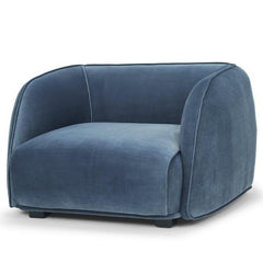 Troy Armchair - Dust Blue
