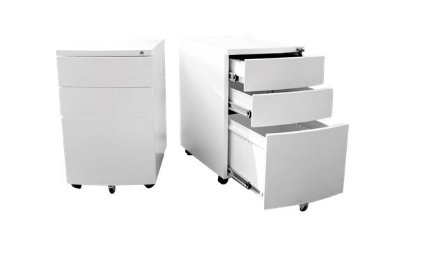 Velocity 3 Drawer Mobile  Pedestal - Office Storage