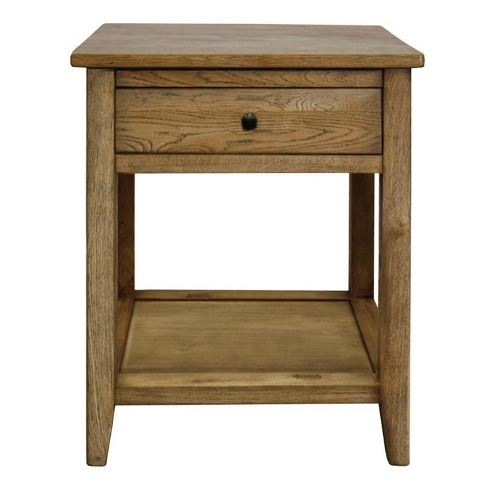 Vermont Oak Bedside Table - Natural