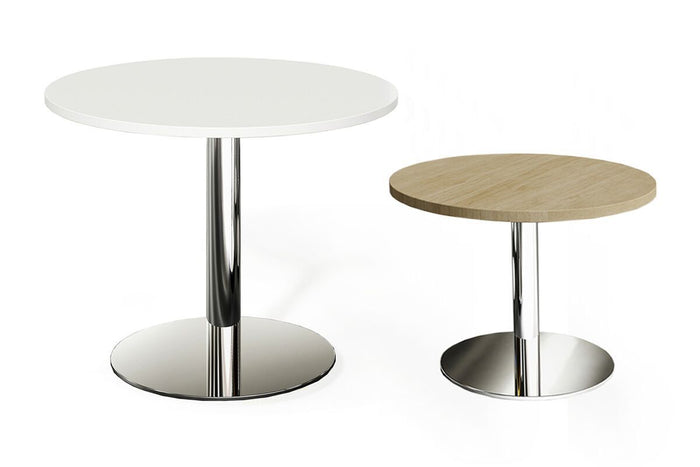 Verse Round Office Meeting table - White