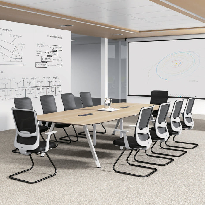 Vogue 3.6m Boardroom Meeting Table - Natural