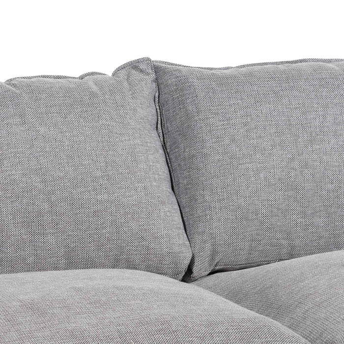 Wilford 2 Seater Fabric Sofa - Oslo Grey