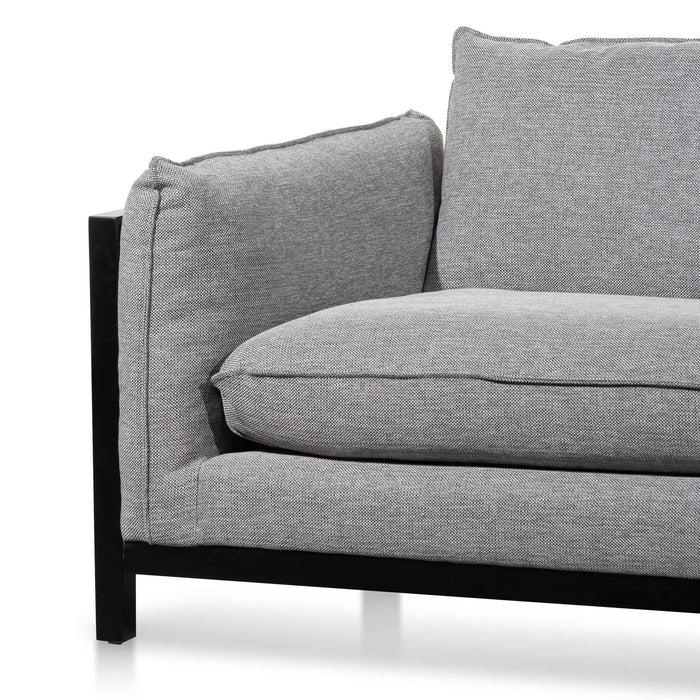 Wilford 3.5 Seater Fabric Sofa - Graphite Grey