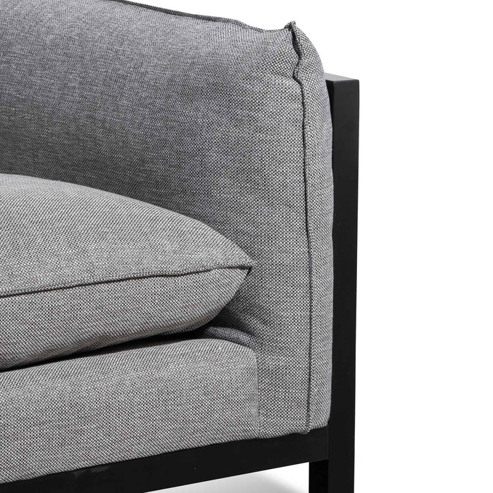 Wilford 3.5 Seater Fabric Sofa - Oslo Grey