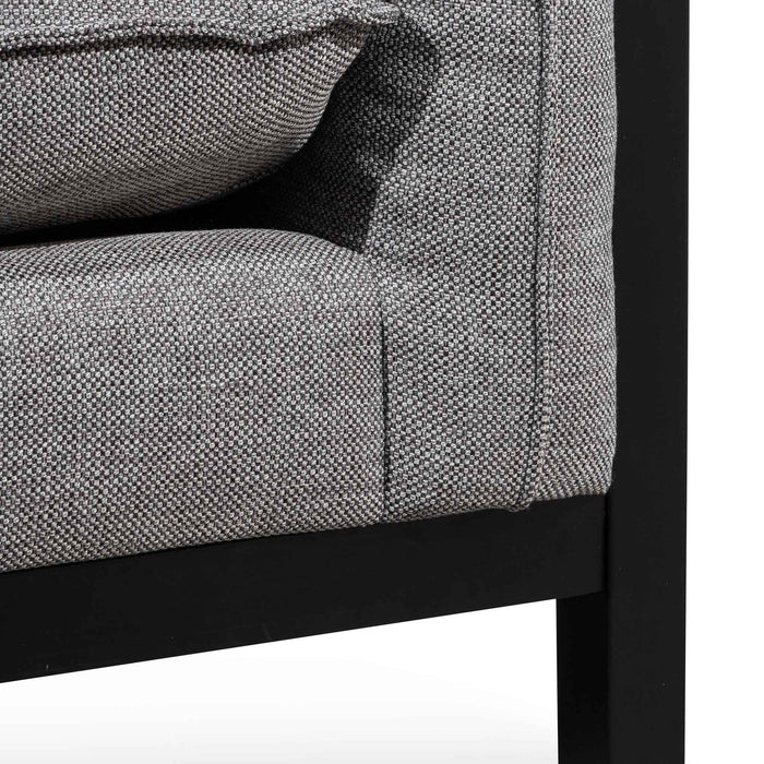 Wilford Fabric Armchair - Graphite Grey