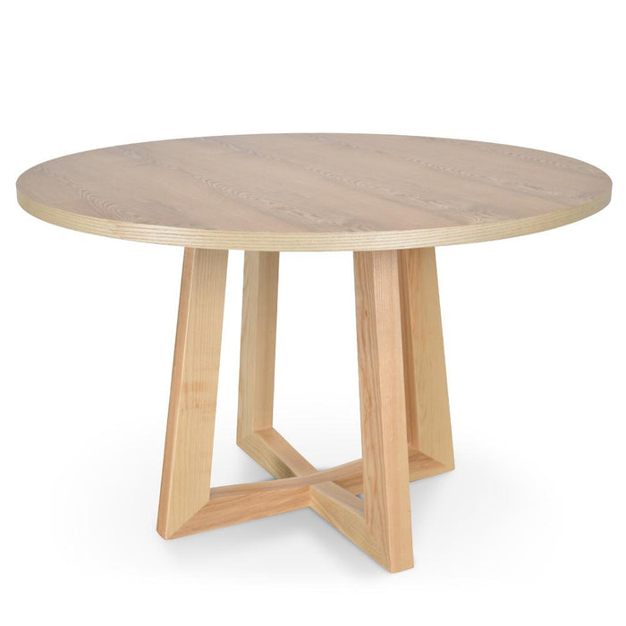 Zodiac 1.2m Round Dining Table - Natural