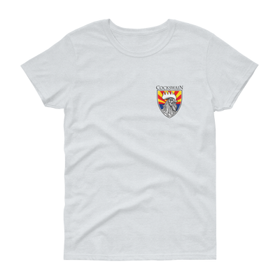 Cockswain Coat-of-Arms Women's light short sleeve t-shirt