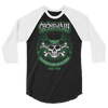 Cockswain 2019 St. Patrick's Day Weekend Tour 3/4 Sleeve Raglan Shirt