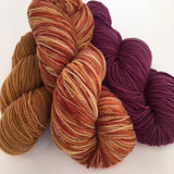 Rambouillet yarn in coordinating colors