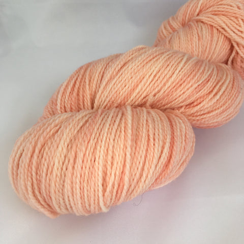 Pale peach yarn