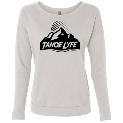 Tahoe Lyfe Black Mountain Logo Ladies' French Terry Scoop