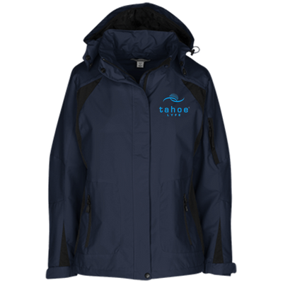 Tahoe Lyfe Modern Blue Logo Port Authority Ladies' Embroidered Jacket
