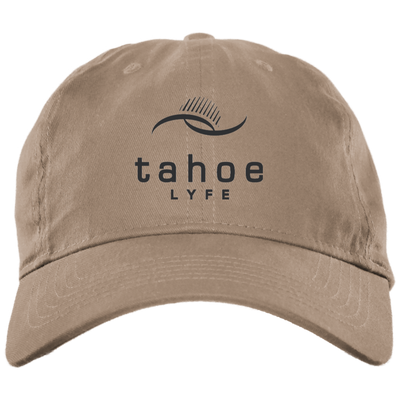 Tahoe Lyfe Modern Logo Brushed Twill Unstructured Dad Cap