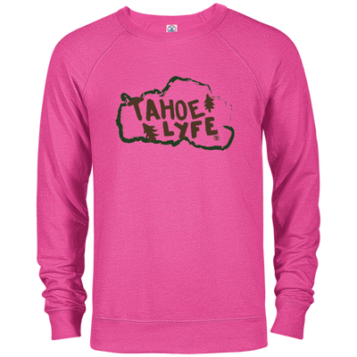 Tahoe Lyfe Rustic Logo French Terry Crew