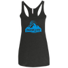Tahoe Lyfe Blue Mountain Logo Ladies' Triblend Racerback Tank