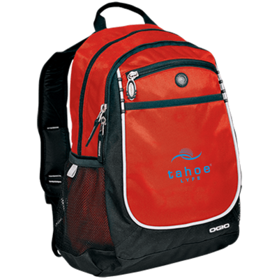 Tahoe Lyfe Modern Blue Logo OGIO Rugged Bookbag