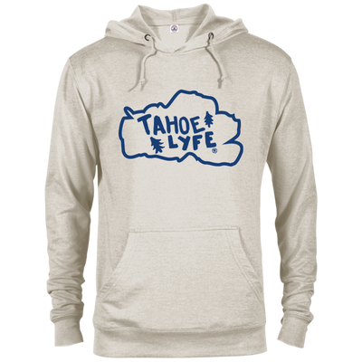 Tahoe Lyfe Blue Logo French Terry Hoodie in 5 Colors