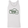 Tahoe Lyfe Green Bella + Canvas Unisex Tank in 6 Colors