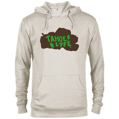 Tahoe Lyfe Brown Logo French Terry Hoodie in 5 Colors