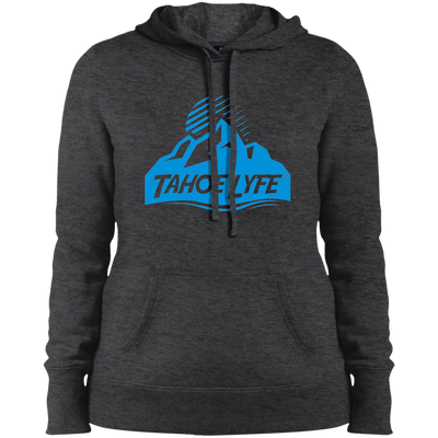 Tahoe Lyfe Blue Mountain Logo Ladies' Pullover Hooded Sweatshirt