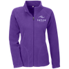 Tahoe Lyfe Modern White Logo Team 365 Ladies' Microfleece
