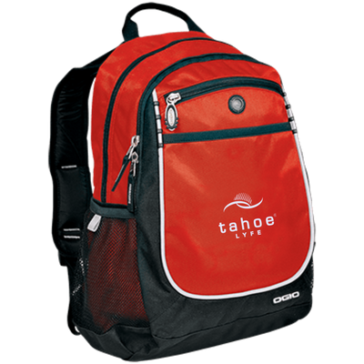 Tahoe Lyfe Modern White Logo OGIO Rugged Bookbag