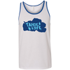 Tahoe Lyfe Solid Blue Lake Bella + Canvas Unisex Tank in 14 Colors