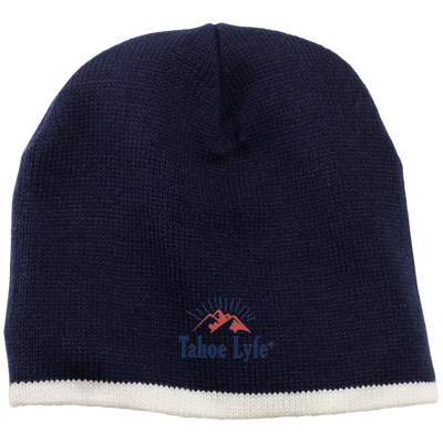 Orange Mountain Logo 100% Acrylic Beanie