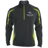 Tahoe Lyfe Modern White Logo Sport-Tek Men's Sport Wicking Colorblock 1/2 Zip