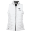 Tahoe Lyfe Modern Black Logo Holloway Ladies' Quilted Vest
