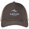 Tahoe Lyfe Modern White Logo District Mesh Back Cap